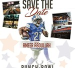 NFL Alumin Draft Party witn Ameer Abdullah