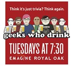Emagine hosts Geeks Who Drink, an interactive pub quiz/trivia event