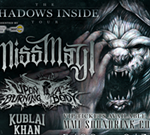 Miss May I with Upon a Burning Body, Kublai Kahn, Currents & Our Vices