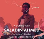 Abbott Debut Issue Signing w/ Saladin Ahmed