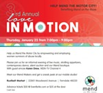 Love in Motion (Mend on the Move)