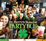 St. Patty's Parade Party Bus