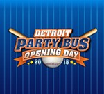 Tigers Opening Day Party Bus