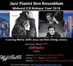 Ben Rosenblum Trio Live at Cliff Bell's