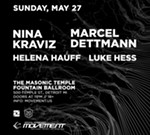 Nina Kraviz and Marcel Dettmann Official Movement Afterparty