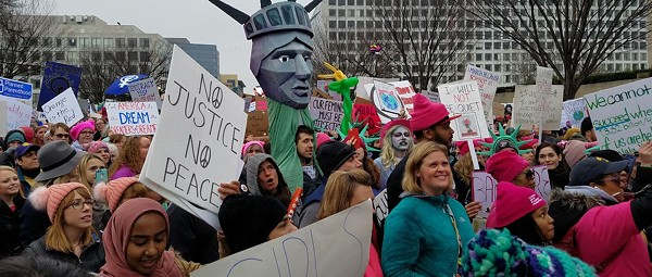 Metro Detroit turns out for the Women's March on Washington, D.C.
