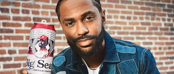 You can now drink a tallboy with Big Sean's face on it thanks to Budweiser