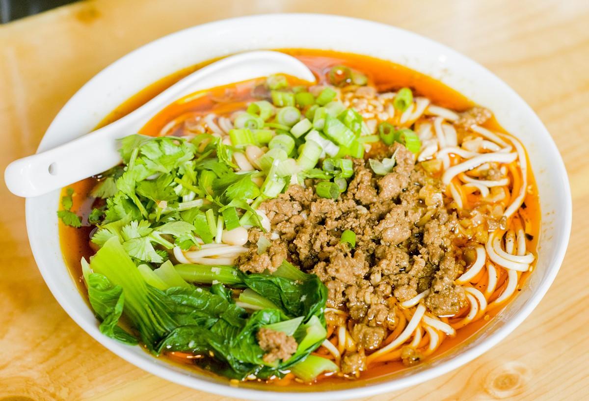Sichuan noodles.