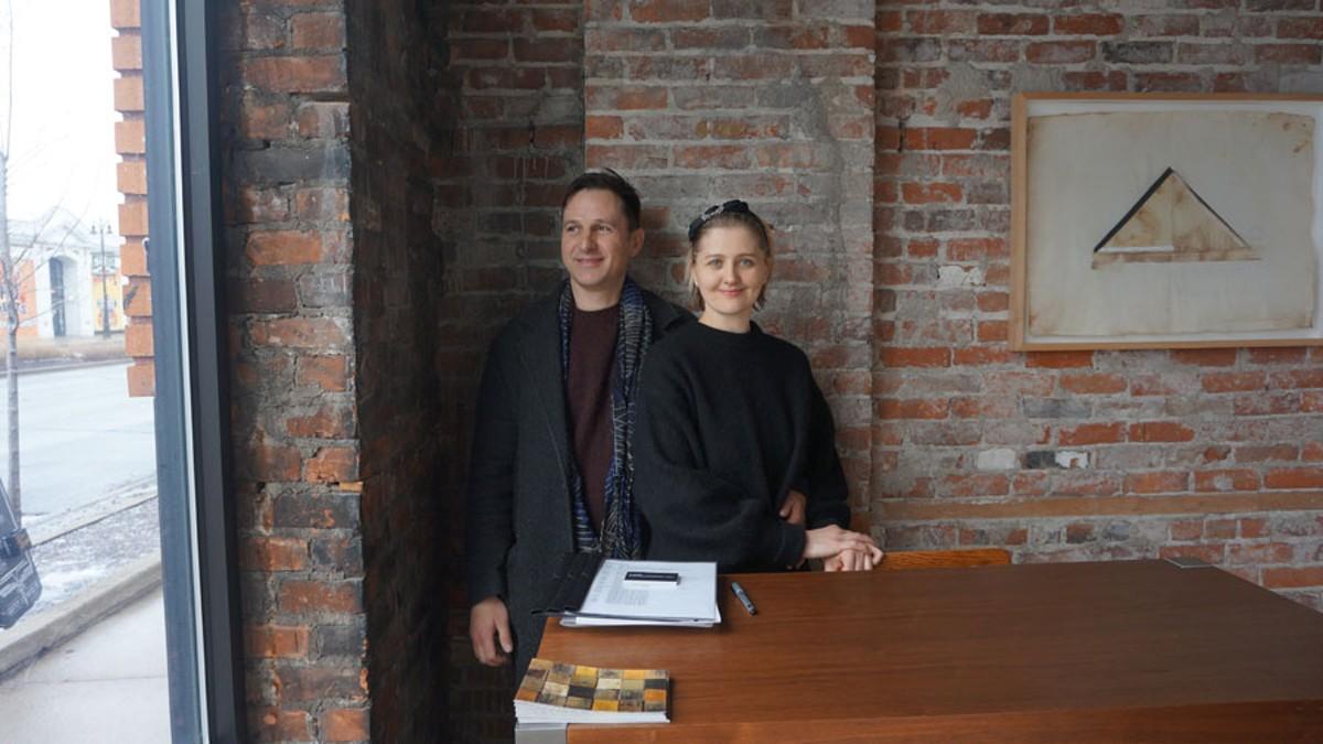 Vadim and Kristina Oss.
