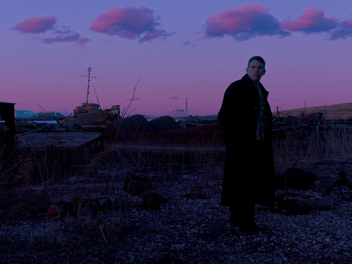 Ethan Hawke plays a reverend who has an existential crisis of faith in Paul Schrader's First Reformed.