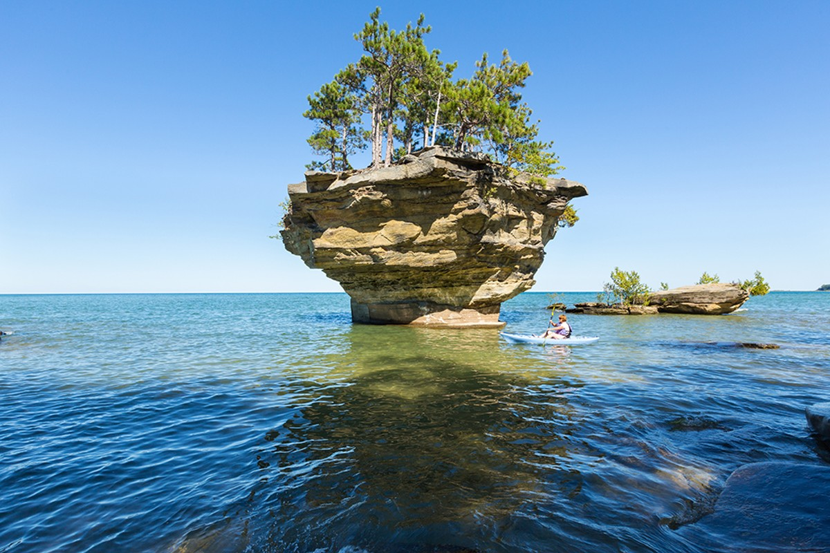 Turnip Rock.