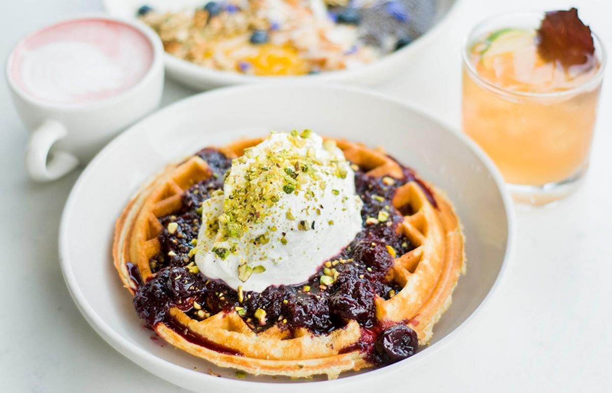 The Belgian waffle.