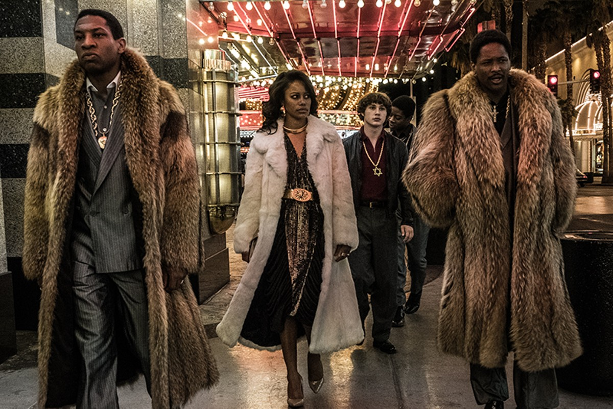 Jonathan Majors, Taylour Paige, RJ Cyler, and YG in White Boy Rick.