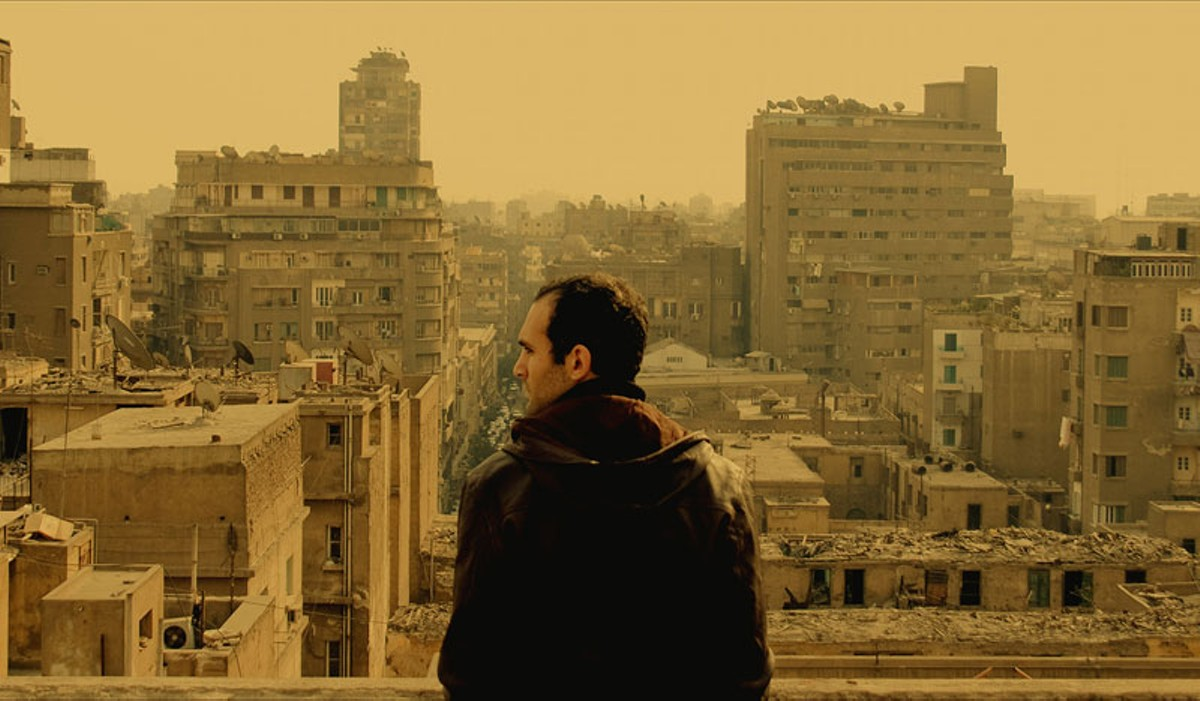 Khalid Abdalla stars in In the Last Days of the City, a film about a film about the end of the Mubarak regime.