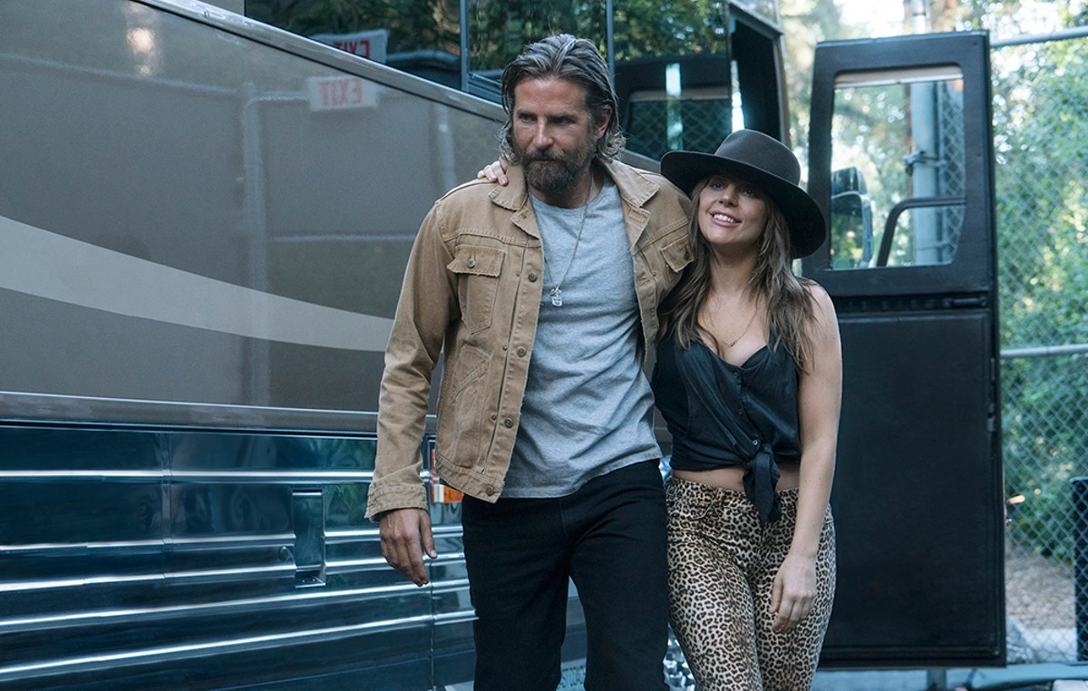 Bradley Cooper and Lady Gaga are the stars of A Star Is Born.