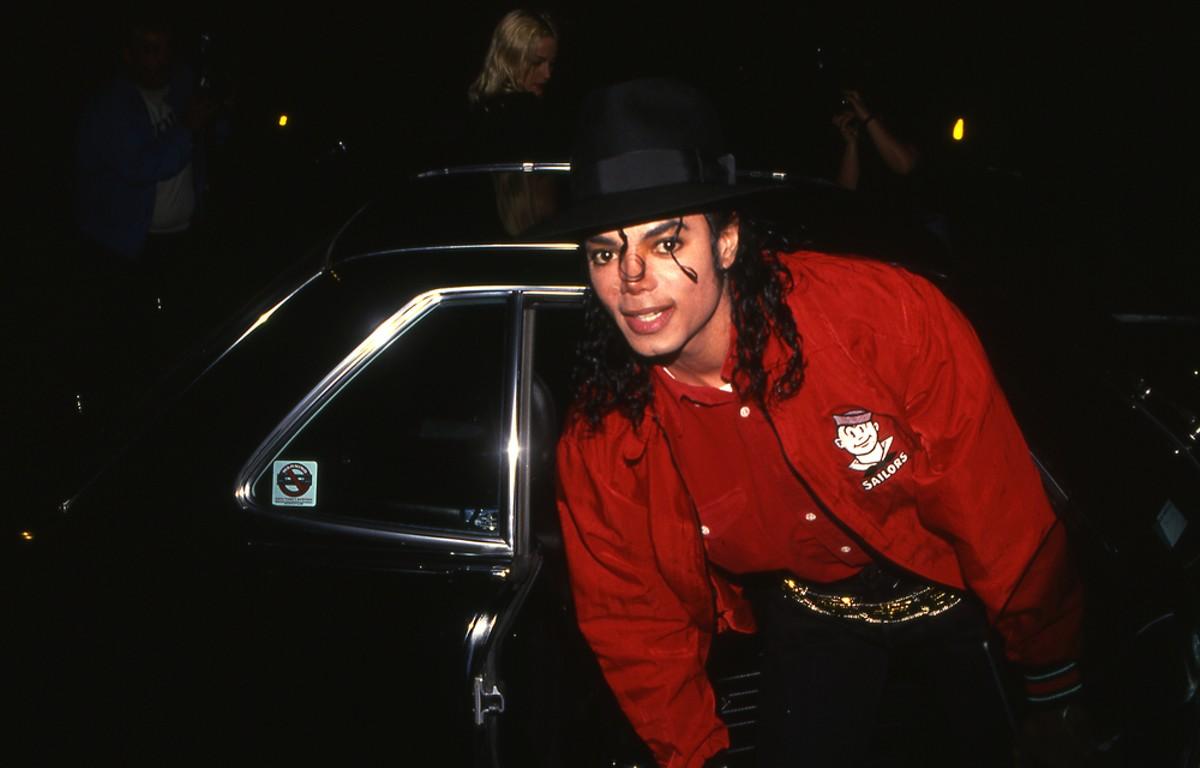 Michael Jackson circa 1990.
