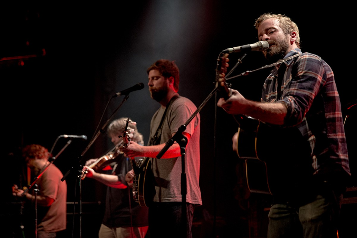 Trampled by Turtles.
