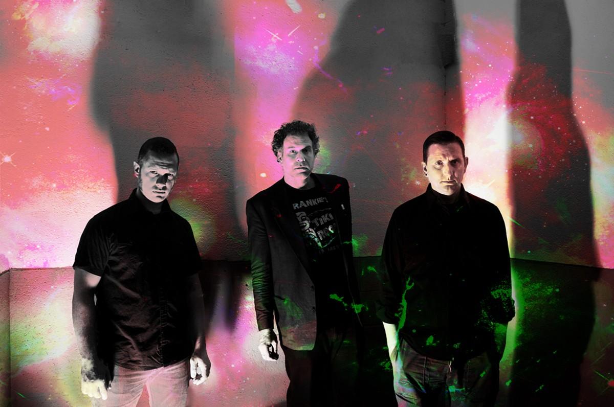 Voyag3r, from left: Aaron Greene, Steve Greene, and Greg Mastin.