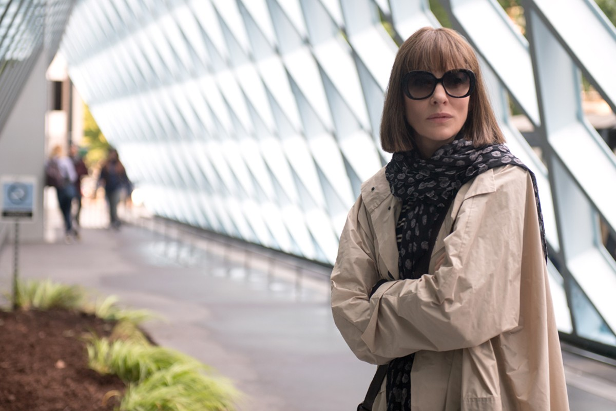 Cate Blanchett stars as Bernadette Fox in Richard Linklater's Where'd You Go, Bernadette?