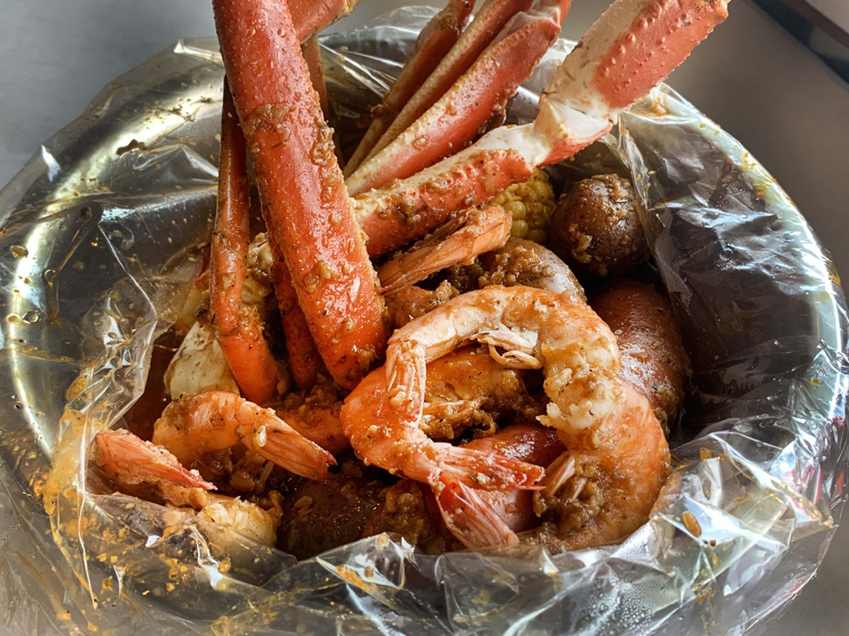 Shrimp and crab boil.
