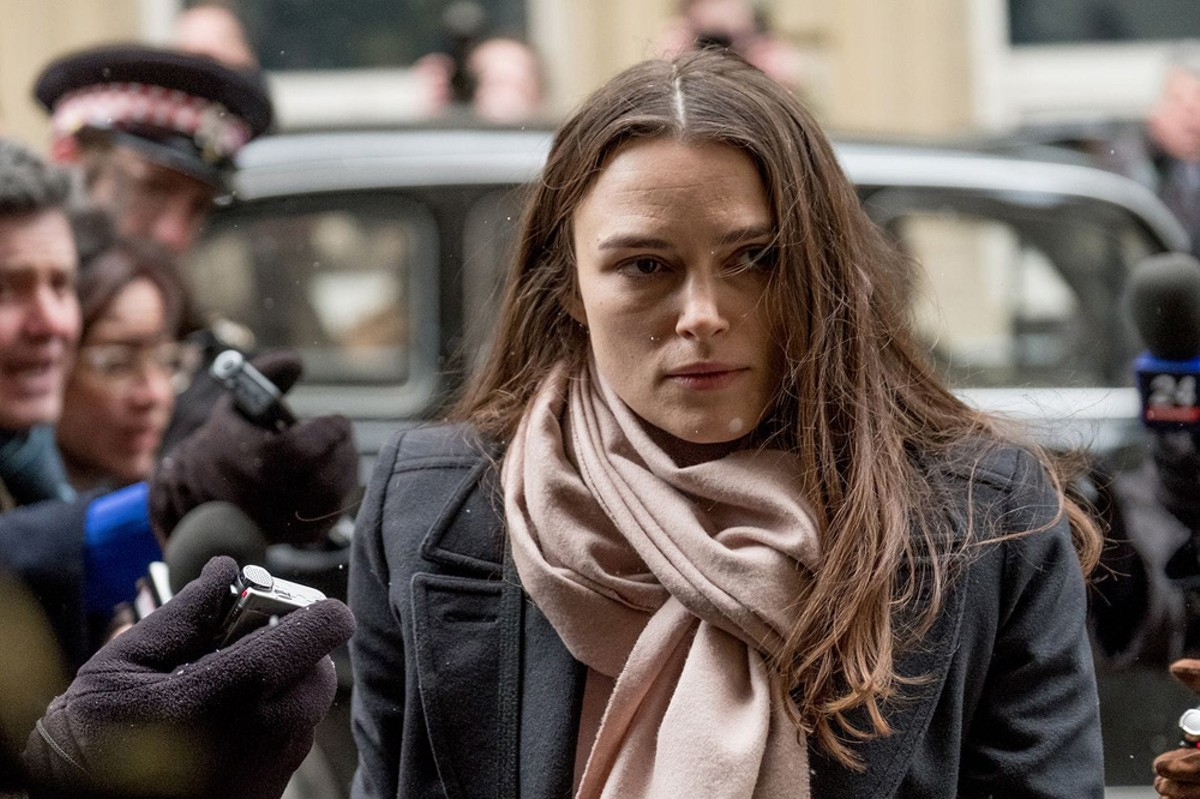 Keira Knightley plays whistleblower Katharine Gun in Official Secrets.