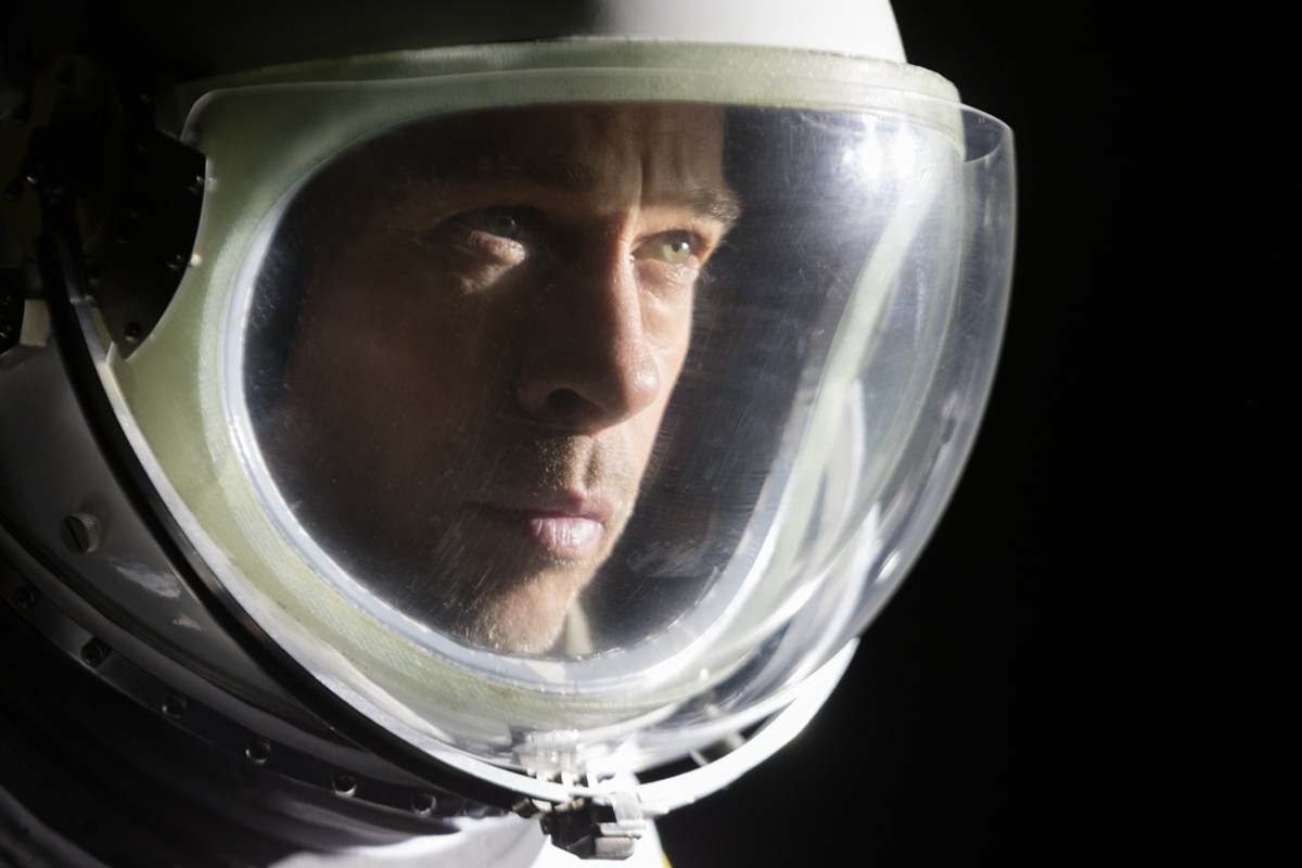 Starman: Brad Pitt helds Ad Astra.