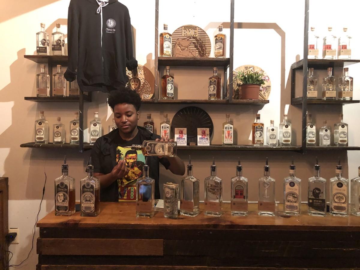 Eastern Market's Detroit City Distillery opened in 2014.
