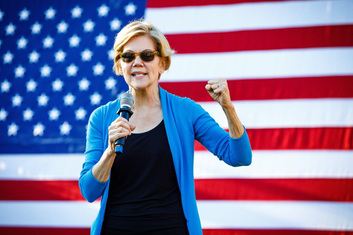 Presidential candidate Sen. Elizabeth Warren.