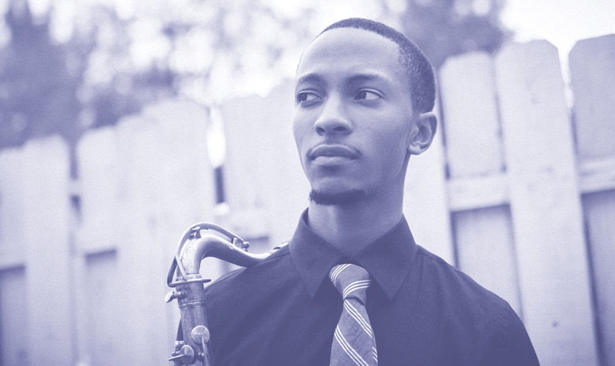 Saxophonist Marcus Elliot