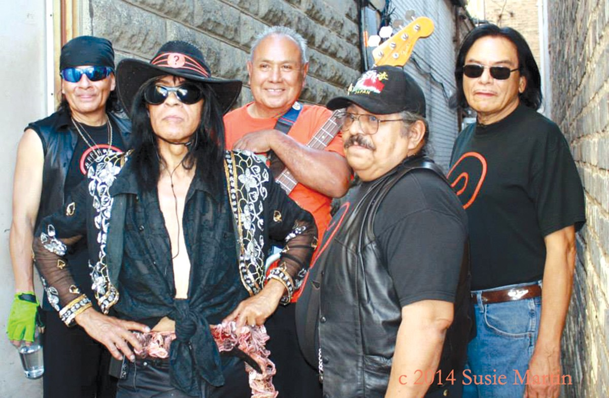 Question Mark and the Mysterians. Photo by Susie Martin.