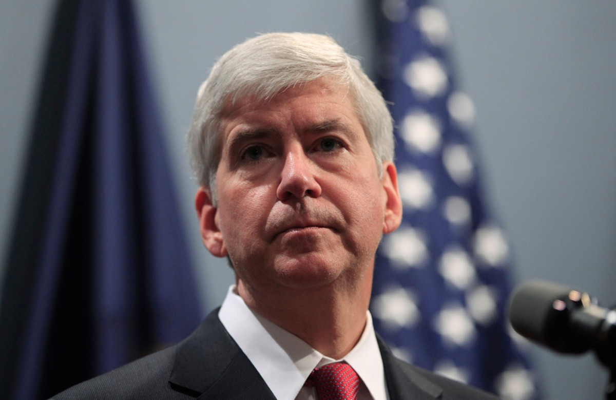 Former Michigan Governor Rick Snyder faces charges of willful neglect in the Flint water crisis.