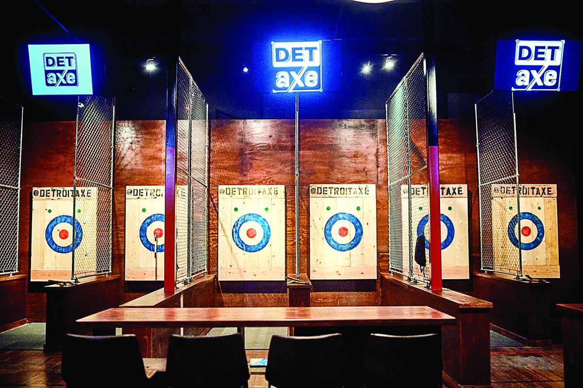 Detroit Axe.