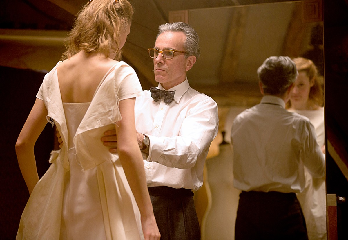 Vicky Krieps and Daniel Day-Lewis star in Phantom Thread.