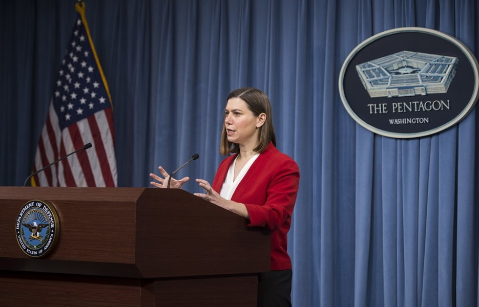 Elissa Slotkin during her stint as a senior official at the Department of Defense. - COURTESY PHOTO