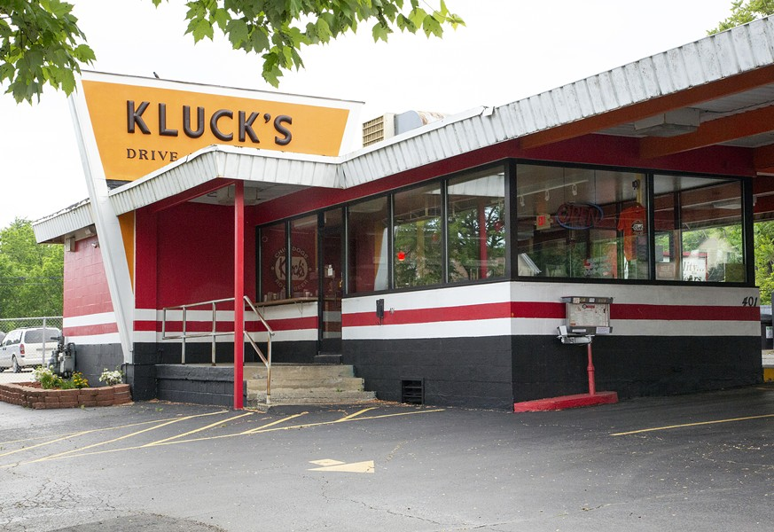 Kluck's Drive-In, Ypsilanti. - KATE DE FUCCIO