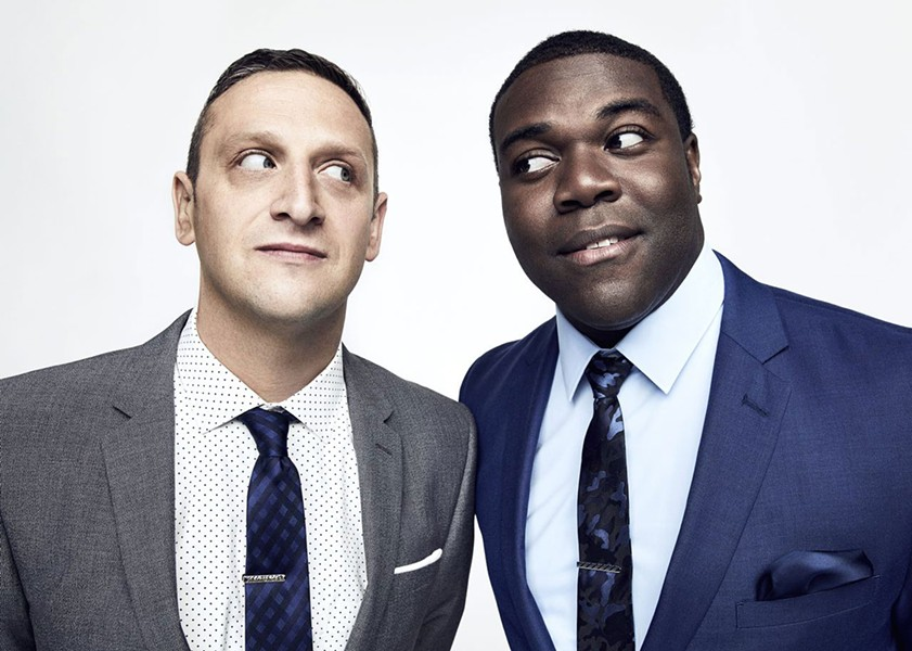 "Tim Robinson and Sam Richardson are ""Detroiters."" - ART STREIBER"