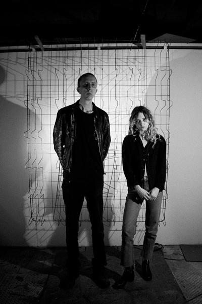 Daniel Tomczak and Kayla Anderson of Serration Pulse. - COURTESY PHOTO.