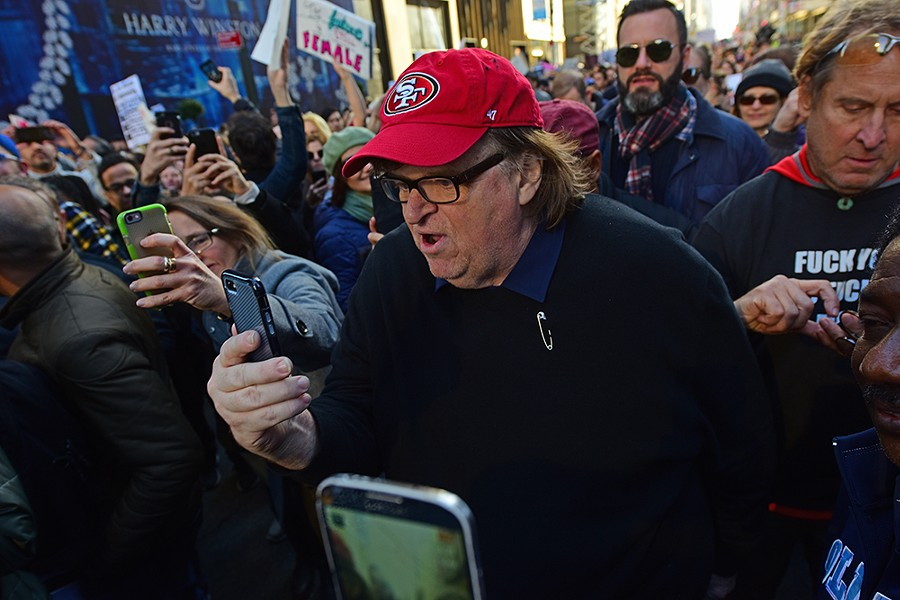 Michael Moore. - KATZ / SHUTTERSTOCK.COM