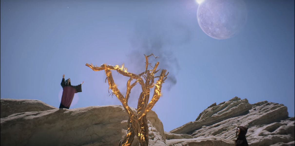 This tree is on fire. - SCREENGRAB.
