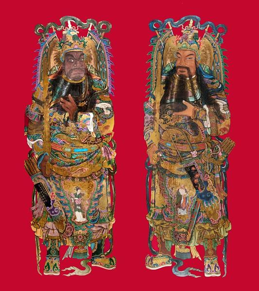"""Door Gods"" © Kaohsiung Museum of History. Photo credit: Ming Bang Yen and Tsung Che Chen - IMAGE PROVIDED BY DIA"