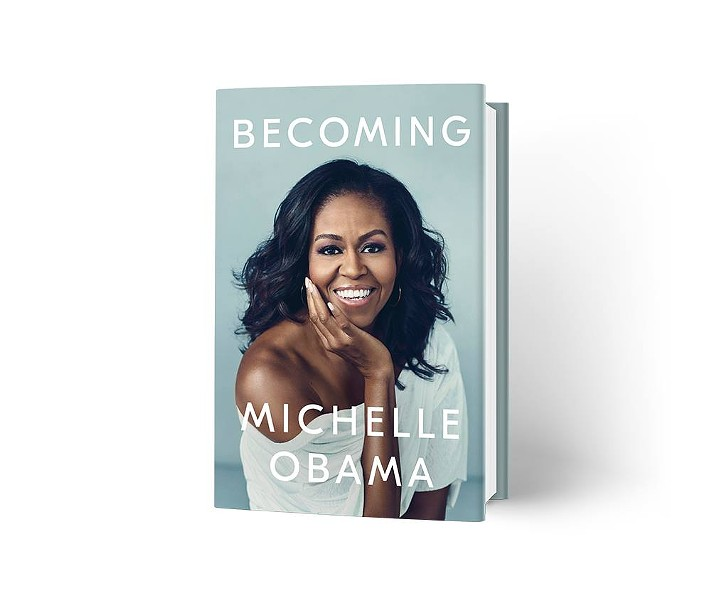 Becoming by Michelle Obama, Nov. 13. - PHOTO VIA MICHELLE OBAMA'S OFFICIAL FACEBOOK