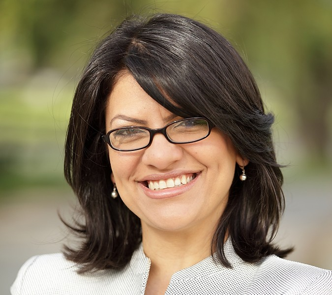 RASHIDA TLAIB/COURTESY PHOTO