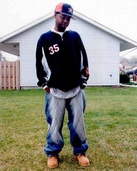 A 2003 PHOTO OF THE LATE J DILLA BY B+