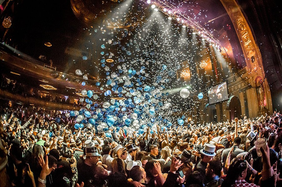 The Fillmore's Resolution Ball. - COURTESY OF THE RESOLUTION BALL
