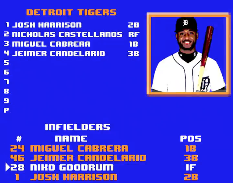 SCREENSHOT FROM DETROIT TIGERS TWITTER ACCOUNT