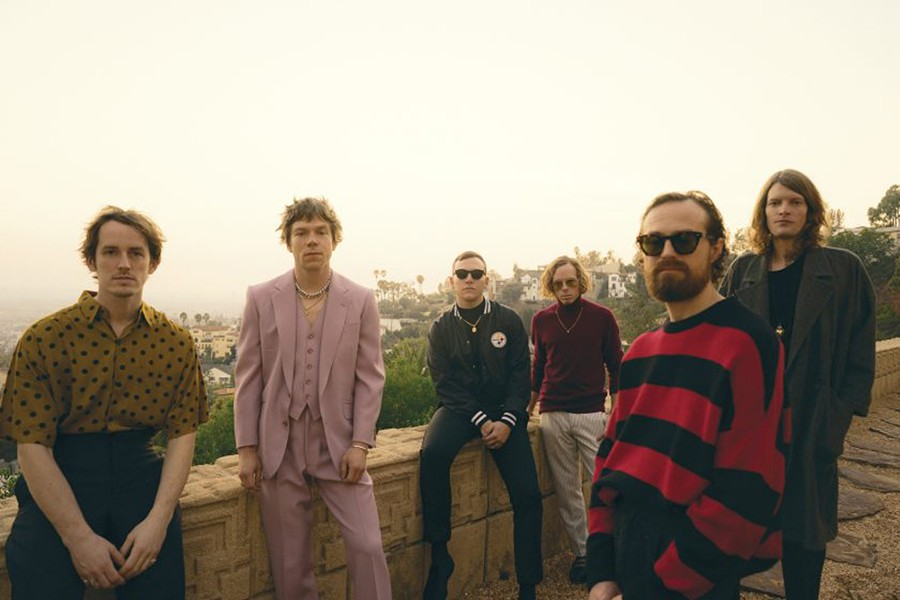 Cage the Elephant, DTE Energy Music Theatre, Aug. 3. - NEIL KRUG