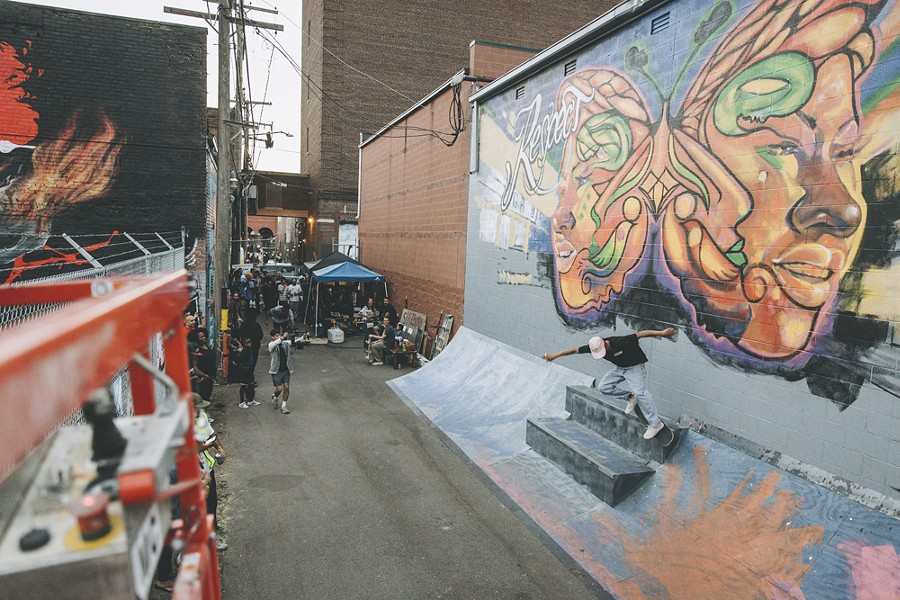 Murals in the Market runs from Sept. 14-21 in Eastern Market. - COURTESY 1XRUN