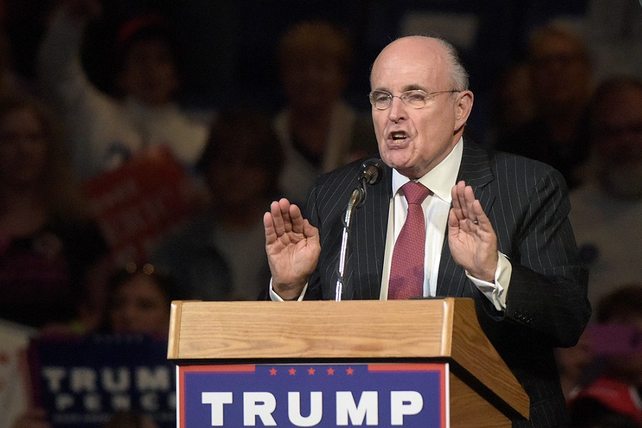 Trump's personal lawyer, Rudy Giuliani. - MATT SMITH PHOTOGRAPHER/SHUTTERSTOCK.COM