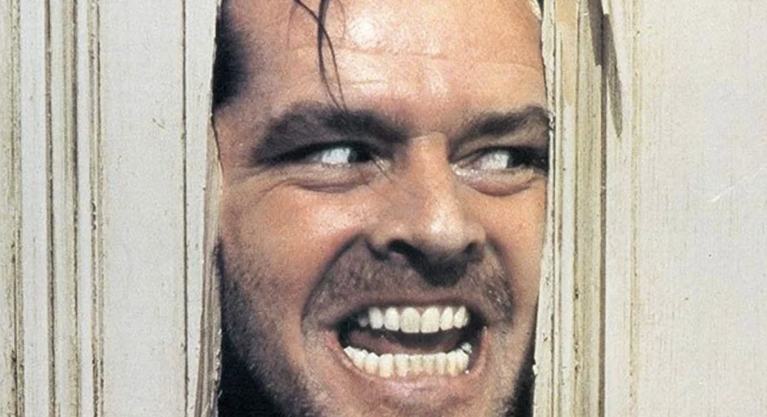 Jack Nicholson in 'The Shining' (1980). - WARNER BROS.