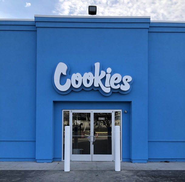 Cookies is coming to 6030 E. Eight Mile Rd., Detroit. - COURTESY OF GAGE CANNABIS CO.